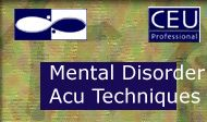 Advanced Acupuncture to Treat Mental/Emotional Disorders (5 Florida CEUs/NCCAOM PDAs)